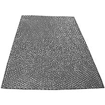 Spares2go grande aluminio malla filtro para Cooke & Lewis/B & Q/cata campana extractor ventilación (corte a tamaño, 90x 47cm)