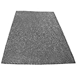 spares2go Große Aluminium Mesh-Filter für AEG Baumatic Dunstabzugshaube/Abluftventilator Vent (90x 47cm, zuschneidbar)