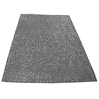 Filtro universal de campana de Spares2go, grande, para todas las marcas de campana extractora / extractor de ventilación, 90 cm x 47cm (corta a medida)