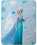 Disney Frozen Arabesque 044737 Decke, Fleece, Mehrfarbig, 110 x 140 cm