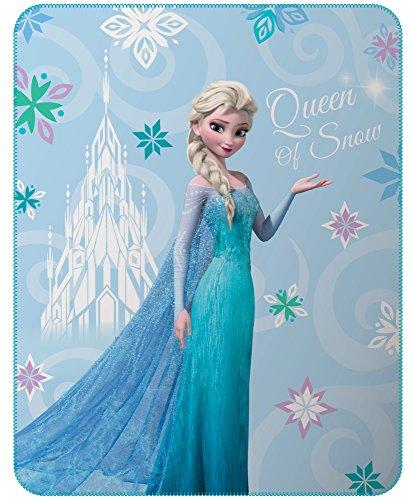 Disney Frozen Decke, Fleece, Mehrfarbig, 110 x 140 cm