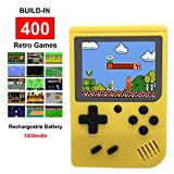 """Handheld Retro FC Game Consoles with 400 Classical NES Games,Super Mario Included,3"""" Screen,1000MAH"""