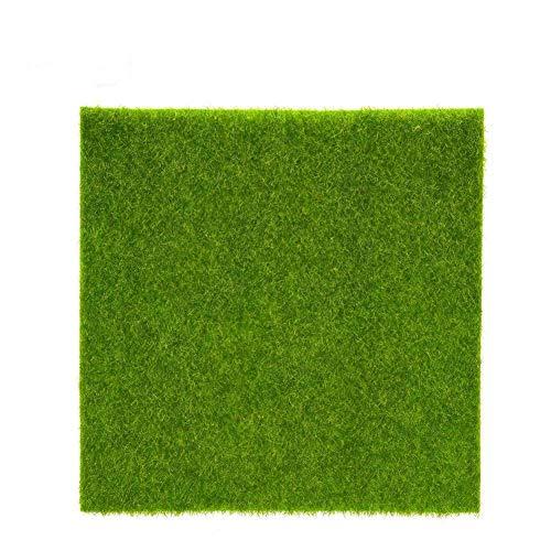 Künstliche Gras Mat Plastic Rasen Grass Indoor Outdoor Grün Synthetische Rasen Micro Landschaft Ornament Home Decoration ( Abmessung : 30cm X 30cm )