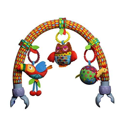 �nger Arch Baby Musical Kinderwagen Spielzeug für Säugling Tierform Plüsch Puppe Anhänger Wrap Um Krippe Bett Bassinet ()