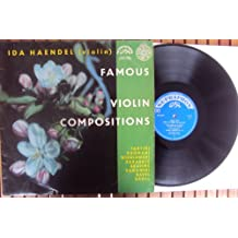 Famous Violin Compositions. Ida Haendel Mono
