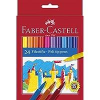 Faber-Castell Unicolor Keçeli, 24 Renk