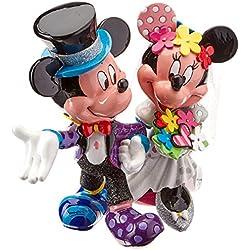 Figura boda Disney Mickey y Minnie 17x17x19 cm