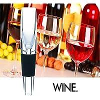 KooKen Acrilico veloce Decanter aeratore del vino Pourer per il whisky vino rosso