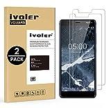 [Lot de 2] Verre Trempé Nokia 5.1 / Nokia 5 2018 [Garantie à Vie], VGUARD Film Protection en Verre trempé écran Protecteur - ANTI RAYURES - SANS BULLES D'AIR -Ultra Résistant Dureté 9H Glass Screen Protector pour Nokia 5.1 / Nokia 5 2018