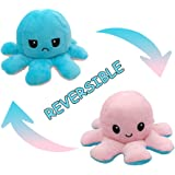 Inlaf Cute Octopus Plush Toys, Reversible Octopus Doll, Soft Mini Octopus Stuffed Animals Doll, Creative Toy Gifts for…