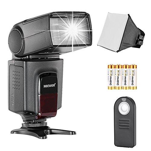 Neewer TT560 Flash Manuel pour Canon Nikon Sony Pentax DSLR Appareil Photo à Sabot, avec Diffuseur, Déclencheur à Distance
