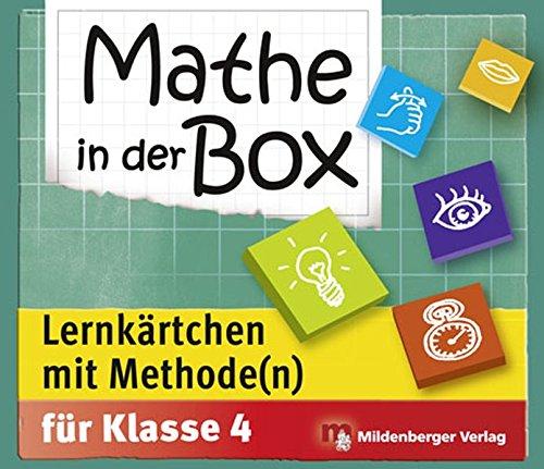(Mathe in der Box – Lernkärtchen mit Methode(n), Klasse 4)
