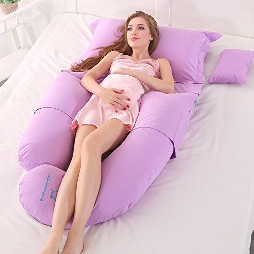 U-förmige Schwangerschaft Kissen Ganzkörper Mutterschaft Unterstützung Für