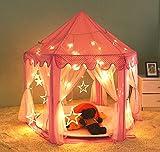 """VicPow Niños Princesa Castillo Jugar Tienda,Playhouse de interior para niñas para niños pequeños juguetes regalo / presente-55 x 53 """"(DxH),Manta y bolas no incluidas"""