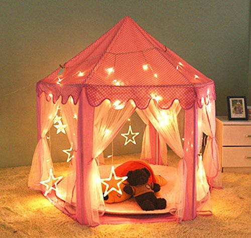 Princess Castle-Tende per interni ed esterni, shayson grande Casetta per bambini, con...