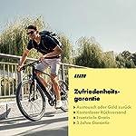 Aaron-City-fahrradpedale-con-Alta-qualit-Industriale-di-Cuscinetti-a-Sfera-Trekking-Bike-e-Bike-e-City-Bike-Bicicletta-Pedale-con-Top-Grip-ArgentoNero