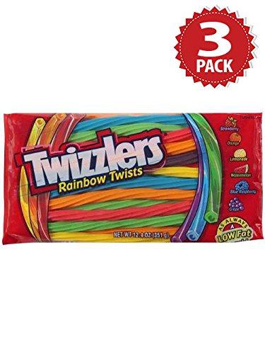 Twizzlers Lakritz - Rainbow - 3er Pack (3x352g)