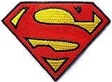 D.C Superman Superheld zum Aufbügeln Aufnäher Abzeichen Kostüm Aufnäher von fat-catz-copy-catz
