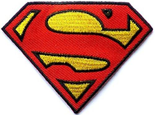 Kostüm Heiße Superhelden - D.C Superman Superheld zum Aufbügeln Aufnäher Abzeichen Kostüm Aufnäher von fat-catz-copy-catz