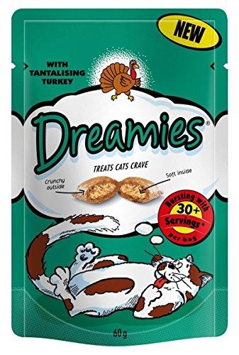 Dreamies Türkei Katzen-Festlichkeiten 60g (Massenabkommen von 8) 480g