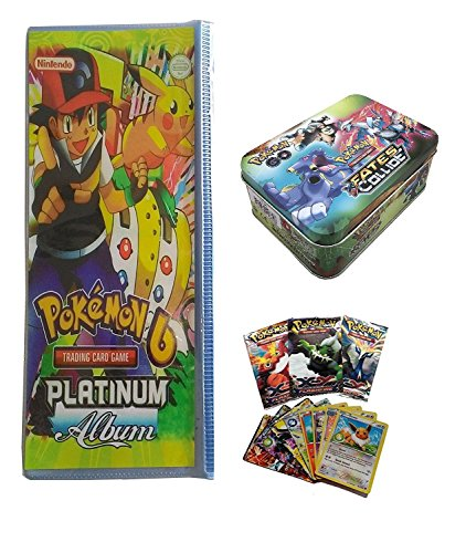 Vortex Toys NEW LOOK Pokemon Platinum Album with FATES COLLIDE Pokemon trading card game  available at amazon for Rs.849