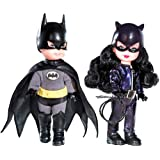 DC - Barbie / Kelly 2008 - KELLY als CATWOMEN & TOMMY als BATMAN - Kelly & Tommy 2-Pack Giftset - Pink Label - Barbie Collector - OVP