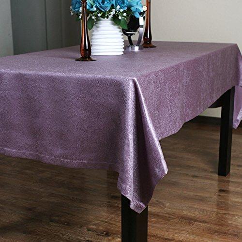 einfache Tischdecke/Chenille samt Tischdecke/Tischdecken/Tischdecke decke/Einfarbige Tischdecke/Tischdecke decke-A 130x240cm(51x94inch) (Chenille Samt Decke)