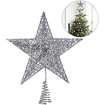 Große Tannenbaumspitze - 3D Stern Ornament - Durchmesser: 30cm ...