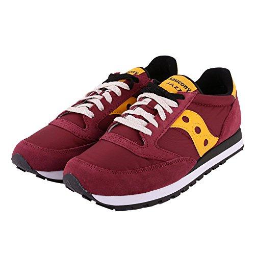 SAUCONY S2044-415 JAZZ ORIGINAL rosso giallo scarpe uomo sneakers lacci 42