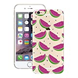 Yokata for iPhone 6S, iPhone 6 (4.7 inch) Silicone Case Ultra Thin Transparent Bumper Clear Gel Back Cover Slim Rubber Elegant Pattern Lightweight Shell Shockproof Protective Case for iPhone 6S, iPhone 6 (4.7 inch) - Watermelon