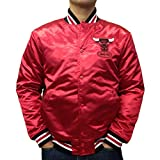 Mitchell & Ness Satin Jacke NBA Chicago Bulls red S