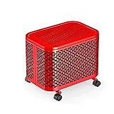 ZNND Riscaldatore Meccanico 2kw Elettrico Termosifone Domestico Energia Salvataggio Olio Zoccolo Mini Piccolo (Colore : Red)