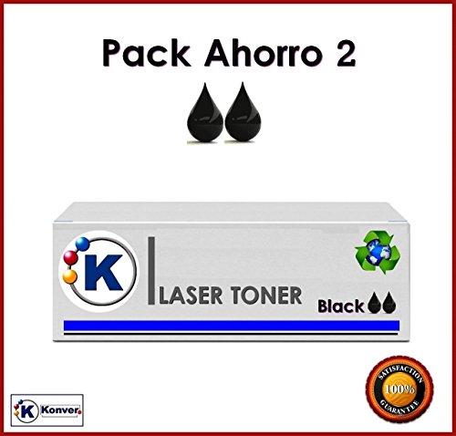 Preisvergleich Produktbild Konver k-mlt-d103l,  K-103,  Sparset 2 x Toner kompatibel Non oem (ersetzt Samsung MLT-D103L / ELS) für Drucker Samsung®: scx4729-hd,  4728HN,  ml-2956nd,  2951d,  2956DW. Versand aus Madrid.