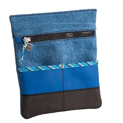 Bustina Portatutto da Cintura o Tracolla ALE L4K3 LAKE Blu Jeans Nero