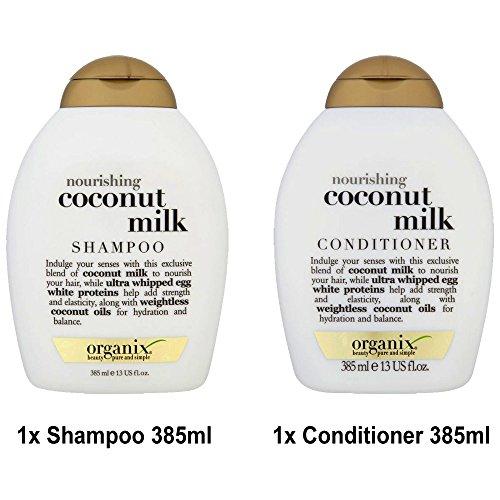 Ogx® Antes organix nouris conmutación Coconut Milk