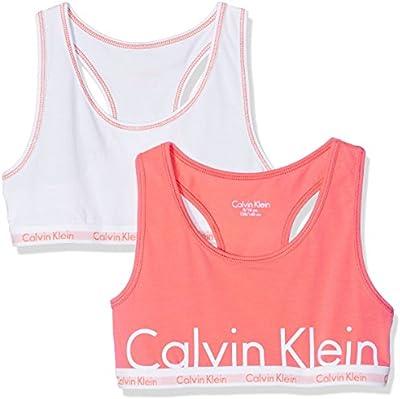 Calvin Klein 2pk Bralette, Sujetador Para Niños