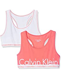 Calvin Klein 2pk Bralette, Soutien-Gorge Fille
