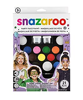 Snazaroo - Set lo último de pintura facial (B00026ZEDK)   Amazon Products