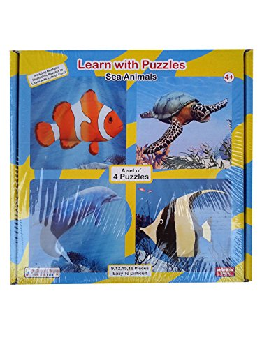 Learn With Puzzles- Sea Animals