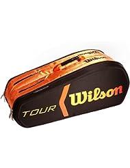 Wilson Burn Molded - Raquetero , color negro / naranja, talla NS