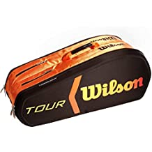 Wilson Burn Molded - Raquetero , color negro / naranja, talla NS