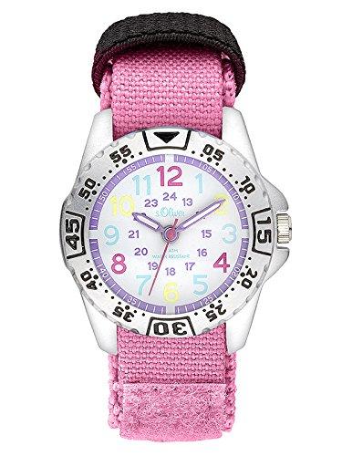 s.Oliver Mädchen-Armbanduhr SO-3505-LQ