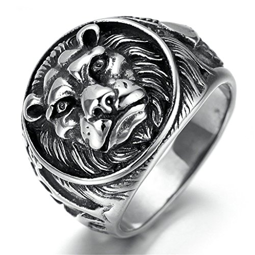 knsam-men-stainless-steel-band-rings-lion-head-comfort-fit-black-size-r-1-2-novelty-ring