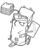 Burton Unisex Alltagsrucksack Tinder, Tblk Triple Ripstop, 32 x 16 x 52cm, 25 liter, 11016102011 - 6