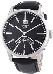 Esprit Analog Black Dial Mens Watch - 3192