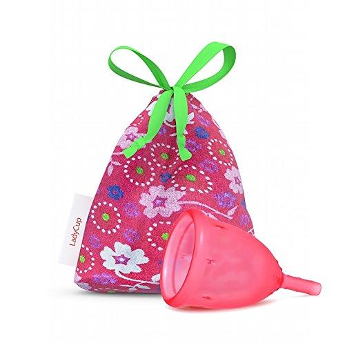 LadyCup Süße Erdbeere L(arge) Menstruationstasse groß