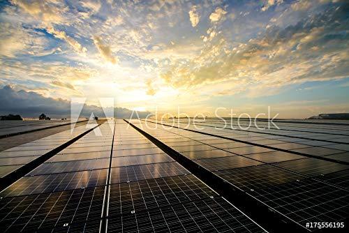 druck-shop24 Wunschmotiv: solar Panels #175556195 - Bild auf Alu-Dibond - 3:2-60 x 40 cm / 40 x 60 cm