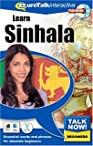 Talk Now Learn Sinhala: Essential Words and Phrases for Absolute Beginners (PC/Mac)