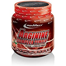 Ironmaxx Arginina Complejo Polvo Arándano rojo, Serie de 1 Paquete (1 x 450 g)