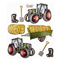 3D XXL Tractor Stickers